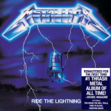 METALLICA Ride The Lightning remastered 2016 (cd)