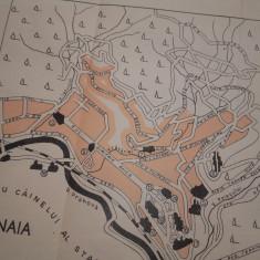 HARTA -PLAN SINAIA, 1939 - Harta Romaniei