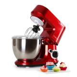 Mixer de bucătărie Klarstein Carina Rossa 800 W 4l - Mixer Bucatarie Klarstein, Cu bol