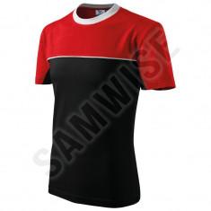 Tricou Colormix, 100% bumbac (Culoare: Negru, Marime: XL, Pentru: Barbati) - Tricou barbati