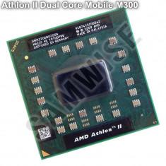 Procesor laptop AMD, Athlon II Dual Core Mobile M300 2GHz, Cache 1MB, 64-Bit, TDP 35W