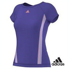 Tricou Adidas Adizero dama -cel mai mic pret - Tricou dama Adidas, Marime: M, Culoare: Din imagine, Maneca scurta, Casual