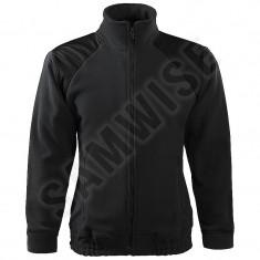 Jacheta Sport Fleece Unisex HI-Q (Culoare: Ebony gray, Marime: M, Pentru: Unisex) - Jacheta barbati
