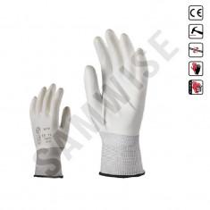 Manusi din poliester tricotate, elastice, cu rezistenta mare la rupere (Marime: 10) - Manusi protectie