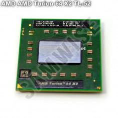 Procesor Laptop, AMD Turion 64 X2 TL-52 1.6GHz, Dual Core, Cache 1MB, 64-Bit, TDP 31W