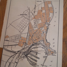 HARTA -PLAN CONSTANTA, 1938 - Harta Romaniei
