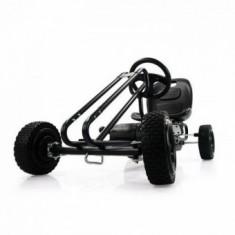 Kart Copii 3-7 Ani Premium Go Lightning Black - Kart cu pedale