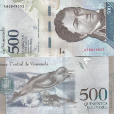 Venezuela 500 Bolivares 2016 UNC