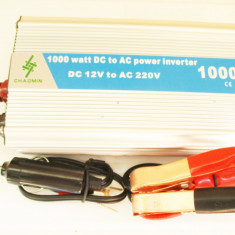 Invertor convertor auto 12V 1000W clesti baterie