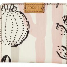 Fossil Emma mini portofel dama roz nou 100% original. Livrare rapida.