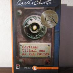 CORTINA .ULTIMUL CAZ AL LUI POIROT -AGATHA CHRISTIE - Carte politiste