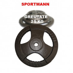 Greutate haltera 25 kg/31mm Hammerton Sportmann, Discuri greutati