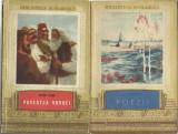 AS- LOT 4 CARTI BIBLIOTECA SCOLARULUI - AL. VLAHUTA, POEZII POPULARE, ANTON PANN, Anton Pann