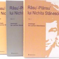 RASU`-PLANSU` LUI NICHITA STANESCU de LAURIAN STANCHESCU, VOL I-III, 2007