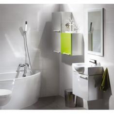 Cersanit, Nano Colours, dulap suspendat universal, 41 cm, alb lucios - Corp baie