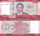 Liberia 50 Dollars 2016 UNC