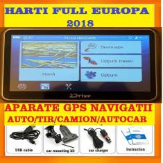 "GPS 2Drive  5"" GPS Camion GPS TIR ADR NAVIGATIE GPS iGO Primo TRUCK 2018, Toata Europa, Lifetime"
