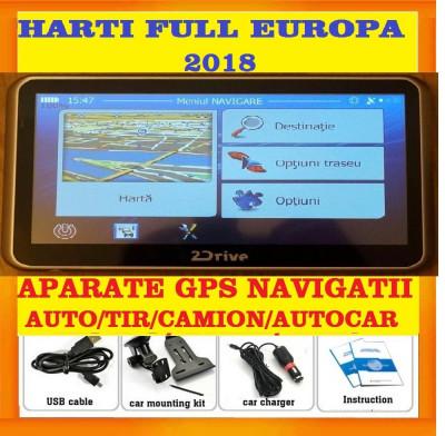 "GPS 2Drive  5"" GPS Camion GPS TIR ADR NAVIGATIE GPS iGO Primo TRUCK 2018 foto"