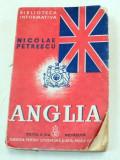 ANGLIA-NICOLAE PETRESCU EDITIA A II-A REVAZUTA 1939