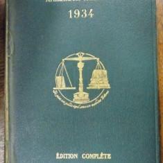 Almanach Hachette, Petite encyclopedie populare, 1934 - Carte veche