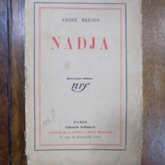 Andre Breton, Nadja, Paris 1928