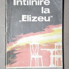INTALNIRE LA ''ELIZEU'' - RODICA OJOG-BRASOVEANU BUCURESTI 1983 - Roman