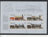 Transport ,locomotive vechi ,Canada., Nestampilat