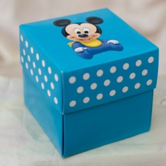 Invitatie botez Mickey Mouse 3620B