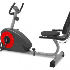 Bicicleta magnetica recumbent Scud Swift H5 - Bicicleta fitness Sportmann, Bicicleta orizontala, Max. 120