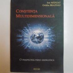 CONSTIINTA MULTIDIMENSIONALA, O PERSPECTIVA PSIHO - SINERGETICA de ION MANZAT, OVIDIU BRAZDAU, 2003 - Carte ezoterism