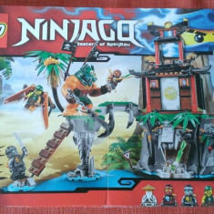 Lego Ninjago 70604 Original -Insula Tiger Widow- nou, sigilat in cutie