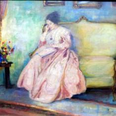 Petre Jinga, Lectura pe canapea - Carte veche