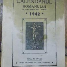 Calendarul romanului pe anul comun de la Hristos 1942, Anul al 54-lea