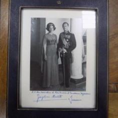 Fotografie Printesa Josephine Charlote de Luxemburg si printul Jean - Harta Europei