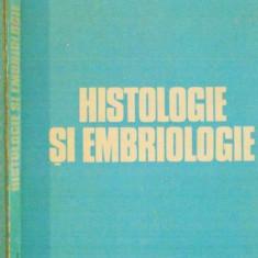 HISTOLOGIE SI EMBRIOLOGIE, MEDICALA VETERINARA de S. BOTAREL, C. COTEA, 1982