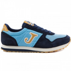 Adidasi originali Joma, model JOMA C.200 703 SKY BLUE - Adidasi barbati, Marime: 40, 41, Culoare: Din imagine, Piele intoarsa