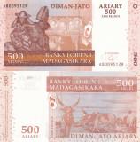 Madagascar 500 Ariary 2004 UNC