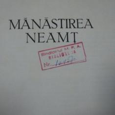 MANASTIREA NEAMT-STEFAN BALS SI CORINA NICOLESCU, BUC.1958 - Carte Arhitectura