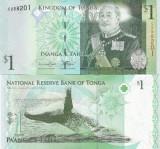 Tonga 1 Paanga 2014 UNC