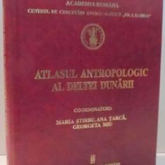 ATLASUL ANTROPOLOGIC AL DELTEI DUNARII de MARIA STIRBU ... GEORGETA MIU, 2011 - Carte Geografie