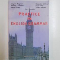 PRACTICE IN ENGLISH GRAMMAR de VIRGINIA BARGHIEL...VIOLETA NEGREA - Carte in alte limbi straine