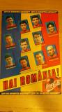 MS - FOTBAL - CAMPIONATUL MONDIAL - FRANTA 1998 - CARTON CU ECHIPA ROMANIEI
