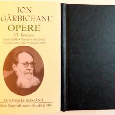 OPERE, VOL V-VI, ROMANE, 2016
