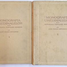 MONOGRAFIA UREDINALELOR DIN REPUBLICA POPULARA ROMANA de TRAIAN SAVULESCU, VOL I-II 1953 - Carte Biologie