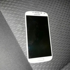 Samsung - Telefon mobil Samsung Galaxy S4, Alb, 16GB, Neblocat, Single SIM