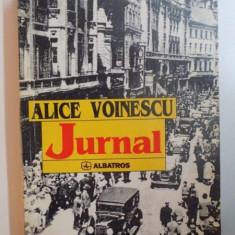 JURNAL de ALICE VOINESCU, 1997 - Roman