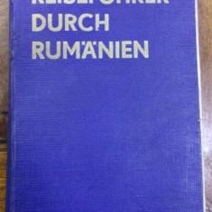 REISEFUHRER DURCH RUMANIEN / ROMANIA . GHID DE CALATORIE de AL. CICIO POP si ZOLTAN NEMETH (1932) - Carte Geografie