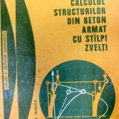 CALCULUL STRUCTURILOR DIN BETON ARMAT CU STALPI ZVELTI-R.AGENT, V.BANUT - Carti Mecanica