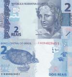 Brazilia 2 Reais 2010 UNC
