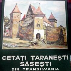 Cetati taranesti sasesti din Transilvania, SIBIU 1980 - Carte veche